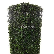 outdoor artificial topiary boxwood hedge pillar dongyi