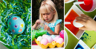 kids easter eggs easter egg decorating party ideas for kids shari s berries