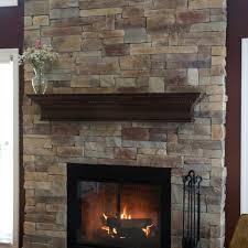 How To Cover Brick Fireplace by Mountain Stack Stone Veneer North Star Stone