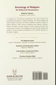 Peter Berger The Sacred Canopy by Sociology Of Religion An Historical Introduction Roberto