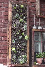 diy vertical succulent planter hometalk
