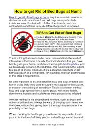 Bed Bugs How Do You Get Them How To Get Rid Of Bed Bugs At Home