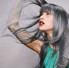 trendy gray hair styles beauty tips for great grey hair hairstyles nail designs