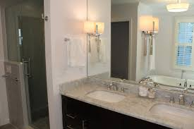 bathroom decoration brilliant double glass wall mounted light