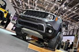 jeep renegade concept jeep renegade hard steel concept 11 images 2015 geneva motor