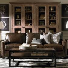 ladson leather queen sleeper sofa bassett home furnishings