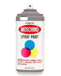 Spray Paint White - moschino spray paint iphone 6 case white multi