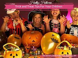 halloween trick and treat tips for your children