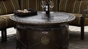large propane fire pit table large propane fire pit awesome with lid table intended for 11