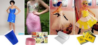 prom dress collections made from trash going green