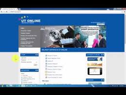 pendaftaran tutorial online ut ut online video panduan aktivasi ut online youtube