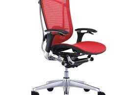 office chair beautiful ergonomic mesh office chair red color