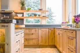 Lodge Kitchen by Modern Lodge Bauer Clifton Interiors Juneau Alaska