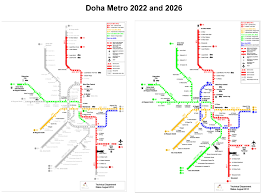 Green Line Metro Map by Green Light For Doha Metro Construction Railway Pro