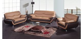 Leather Sofa And Chair Sets Best Two Tone Leather Sofa 2106 Modern Two Tone Leather Sofa