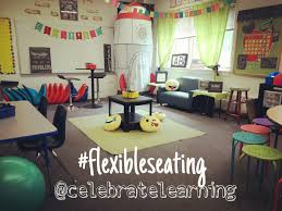 flexible seating alternative classroom decor and