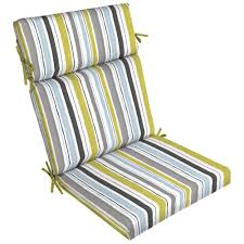 Chair Cushions For Outdoor Furniture by Highback Outdoor Dining Chair Cushions Outdoor Chair Cushions