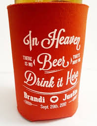 koozies for weddings 13 best jtees wedding party images on wedding koozies
