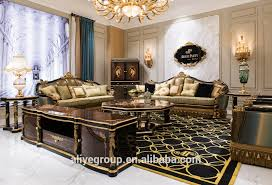Victorian Sofa Set by Ti 029 Luxury Black And Gold Victorian Sofa Furniture Sets Buy