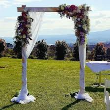 wedding arches melbourne wooden wedding arbour the wedding arch by ceremonies i do