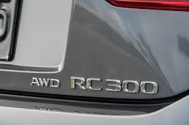 lexus turbo awd the 2016 lexus rc adds a turbocharged awd option