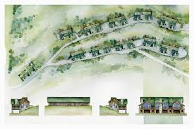 siteplan1border email watercolor architectural illustrations