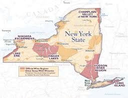 Map Ny New York City Wine Region New York Wine U0026 Grape Foundation New