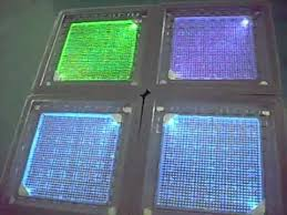 solar led paver lights solar led paver lights rgb color changing youtube