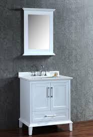nantucket 31 inch white single bathroom vanity set