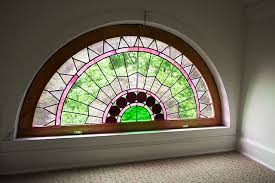 Decorative Windows For Houses Stained Glass Demilune Window Home U0026 Decorating Pinterest