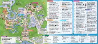 Walt Disney World May 2016 Walt Disney World Park Maps Photo 1 Of 14
