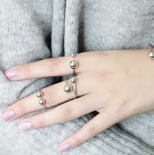 metal ball rings images Sterling silver ball rings by attic jpg