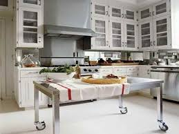 kitchen island work table stainless steel kitchen work table island enhancing the cooking