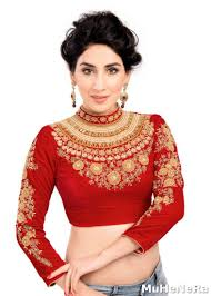 blouse pic buy the maharani blouse studded embroidered