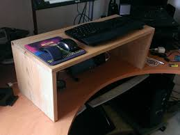 Diy Treadmill Desk by How To Build A Standing Desk For 36 40 Belowreproach Com