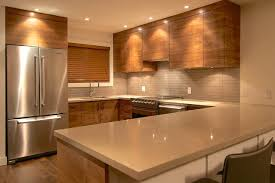 Black Walnut Kitchen Cabinets Black Walnut Grain Matched Modern Kitchen Vancouver By