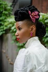 coiffure mariage africaine cheveux afro 35 idées de coiffures de mariage