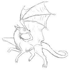 baby dragon lineart by callmedb on deviantart
