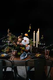 thanksgiving place setting ideas crate and barrel