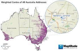 Australia Population Map Featured Maptitude Maps