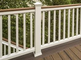 Banister Styles Deck Railing Systems Composite Outdoor Deck Railing Trex