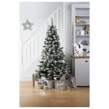 buy tesco 6ft alaskan flocked tree from our