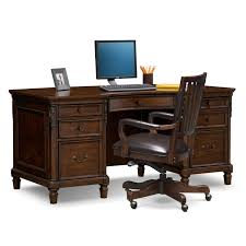 Computer Desk With Hutch Cherry by Home Office Furniture Value City Value City Furniture