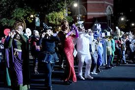 halloween event nyc new york city u0027s 43rd annual village halloween parade inspires