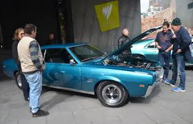 car show classics amc rambler club at melbourne u0027s federation square