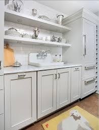 open shelving in kitchen ideas gray kitchen ideas small gray kitchen with open shelves and white