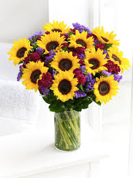 bouquet of sunflowers let s learn about flowers sunflower edition planning it all