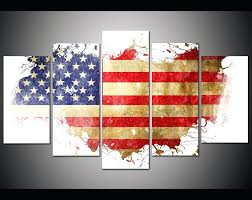 wall ideas zoom uttermost american flag metal wall art american