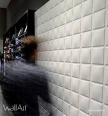 panneau relief mur revêtement mural en relief panneaux 3d cubes