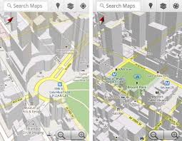 android offline maps maps 5 brings offline maps 3d view and new compass mode